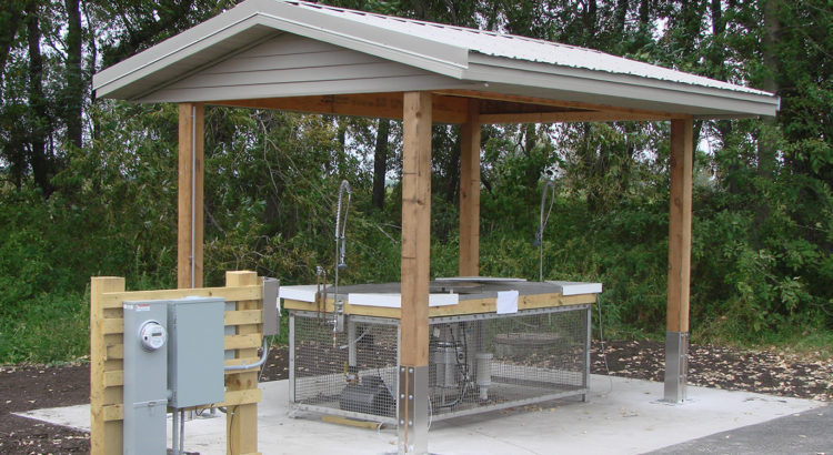 City of Oconto Fish Cleaning Station